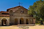 Front entrance, Mission San Antonio de Padua, Monterey County, California Front entrance, Mission San Antonio de Padua, Monterey County, California