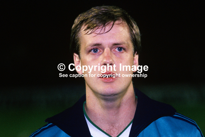 Colin Clarke, footballer, Bournemouth FC & N Ireland, 19860308CC..Copyright Image from Victor Patterson, 54 Dorchester Park, Belfast, UK, BT9 6RJ..Tel: +44 28 9066 1296.Mob: +44 7802 353836.Voicemail +44 20 8816 7153.Skype: victorpattersonbelfast.Email: victorpatterson@mac.com.Email: victorpatterson@ireland.com (back-up)..IMPORTANT: If you wish to use this image or any other of my images please go to www.victorpatterson.com and click on the Terms & Conditions. Then contact me by email or phone with the reference number(s) of the image(s) concerned.