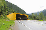 SNOW SHED ON HIGHWAY # 1, BRITISH COLUMBIA, CANADA