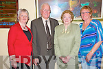 Pictured at the prizegiving for the Gleneagle Big Bowl break in the Gleneagle on Thursday night were Margaret Sweeney, Beaufort, Tom Grant, organiser,Beaufort, Bridie O'Sullivan, 4th, Killarney and Mary Grant, Beaufort.