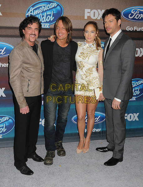 11 March 2015 - West Hollywood, California - Scott Borchetta, Keith Urban, Jennifer Lopez, Harry Connick Jr.. American Idol Season 14 Finalists Party held at The District. <br /> CAP/ADM/BP<br /> &copy;BP/ADM/Capital Pictures