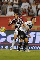 RIO DE JANEIRO, RJ, 06 DE MAIO 2012 -  FINAL CAMPEONATO CARIOCA - Fluminense x Botafogo, jogador herrera do botafogo, no lance pela primeira partida da final do Campeonato Carioca, no Estadio do Engenhão no Rio de Janeiro. (FOTO: BIA FIGUEIREDO / BRAZIL PHOTO PRESS).
