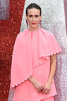 "Sarah Paulson arriving for the ""Ocean's 8"" European premiere at the Cineworld Leicester Square, London, UK. <br /> 13 June  2018<br /> Picture: Steve Vas/Featureflash/SilverHub 0208 004 5359 sales@silverhubmedia.com"
