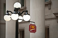 A CIBC sign is seen in Ottawa Saturday September 25, 2010. The Canadian Imperial Bank of Commerce (in French, Banque Canadienne Imperiale de Commerce, and commonly CIBC in either language) is one of Canada's chartered banks, fifth largest by deposits.
