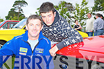 Pat and Kevin, Conway, Ballymacelliggott, with their Ford Escort RS2000 at the Ford show in Muckross on Saturday.   Copyright Kerry's Eye 2008