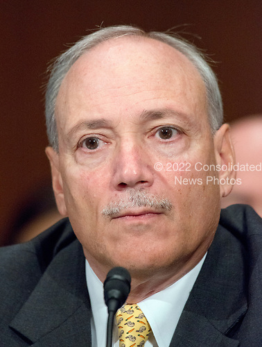 Patrick Pizzella testifies before the United States Senate Committee on Health, Education, Labor, and Pensions on his nomination as Deputy US Secretary of Labor on Capitol Hill in Washington, DC on Thursday, July 13, 2007<br /> Credit: Ron Sachs / CNP
