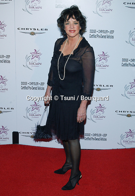 """Stockard Channing arriving at the """" LILI CLAIRE FOUNDATION BENEFIT """" at the Beverly Hilton in Los Angeles. October 18, 2003."""