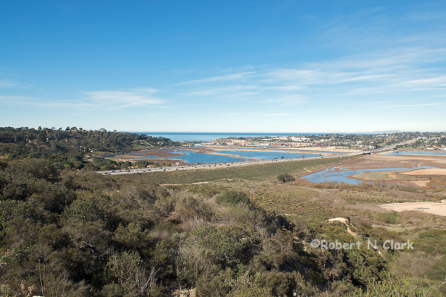 San Dieguito River Valley between Del Mar and Solana Beach, Wetlands restoration area
