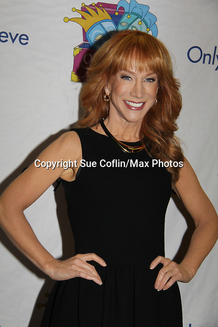 Kathy Griffin - Only Make Believe on Broadway - 14th Annual Gala - on November 4, 2013 hosted by Sir Ian McKellen honoring Susan Sarandon in New York City, New York.  (Photo by Sue Coflin/Max Photos)