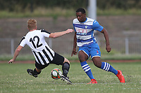 Santana Porter of Ilford during Ilford vs Harwich & Parkeston, Emirates FA Cup Football at Cricklefields Stadium on 10th August 2019