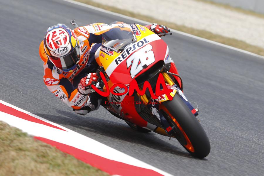 Dani Pedrosa  (SPA) Repsol Honda Team , Moto GP, Free practice, Gran Premi Monster Energy de Catalunya