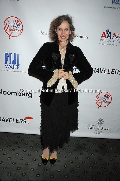 "Andrea Marcovicci  attends the 25th Annual Citymeals-on-Wheels ""Power Lunch for Women""  on November 18, 2011 at The Pierre Hotel in New York City."