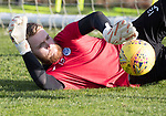 St Johnstone Training…27.10.17<br />Zander Clark pictured during training this morning at McDiarmid Park ahead of tomorrows trip to Partick Thistle<br />Picture by Graeme Hart.<br />Copyright Perthshire Picture Agency<br />Tel: 01738 623350  Mobile: 07990 594431