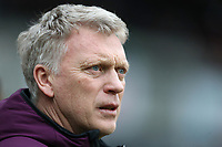 West Ham United manager David Moyes<br /> <br /> Photographer Rob Newell/CameraSport<br /> <br /> The Premier League - West Ham United v Watford - Saturday 10th February 2018 - London Stadium - London<br /> <br /> World Copyright &copy; 2018 CameraSport. All rights reserved. 43 Linden Ave. Countesthorpe. Leicester. England. LE8 5PG - Tel: +44 (0) 116 277 4147 - admin@camerasport.com - www.camerasport.com