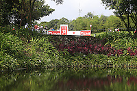 The front of the 13th tee during Round 3 of the CIMB Classic in the Kuala Lumpur Golf & Country Club on Saturday 1st November 2014.<br /> Picture:  Thos Caffrey / www.golffile.ie