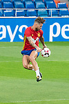 Sergio Ramos during Spain training session at Santiago Bernabeu Stadium in Madrid, Spain September 01, 2017. (ALTERPHOTOS/Borja B.Hojas)