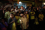 MALDIVES, MALE NOVEMBER 2013: The Democratic leader Mohamed Nasheed on the night of the final meeting before the vote, thousands of people gathered in the streets of Male. © Giulio Di Sturco