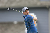 Daniel Berger (USA) tees off the 17th tee during Sunday's Final Round of the WGC Bridgestone Invitational 2017 held at Firestone Country Club, Akron, USA. 6th August 2017.<br /> Picture: Eoin Clarke | Golffile<br /> <br /> <br /> All photos usage must carry mandatory copyright credit (&copy; Golffile | Eoin Clarke)