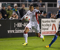 Santa Clara, California -Saturday, March 29, 2014: San Jose Earthquakes vs New England Revolution soccer match at Buck Shaw Stadium. Final Score: SJ Earthquakes 1, NE Revolution 2