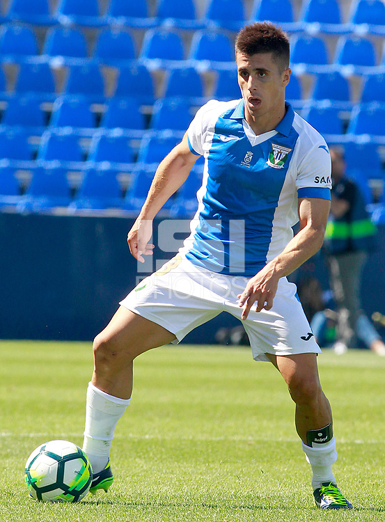 CD Leganes' Unai Bustinza during friendly match. August 12,2017.  *** Local Caption *** &copy; pixathlon<br /> Contact: +49-40-22 63 02 60 , info@pixathlon.de
