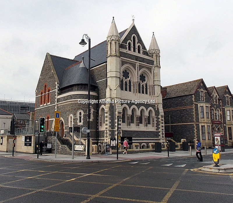 COPY BY TOM BEDFORD<br /> Pictured: The Chapel 1877 venue in Cardiff<br /> Re: Security staff hired for an event at a bar have been accused of mocking and turning away a disabled customer during celebrations for Pride Cymru on Saturday night.<br /> Ben Jones, who suffers from Huntington's Disease, was out with friends on Saturday evening and the group went to Chapel 1877 on Churchill Way in Cardiff at around 10pm.<br /> But a spokesman for the security staff refuted the claims, saying a judgment was made on the grounds of health and safety of individuals on the night.<br /> One of the symptoms of Ben's condition means that he has frequent involuntary body movements.