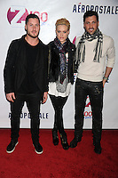 NEW YORK, NY - DECEMBER 07: Valentin Chmerkovskiy, Peta Murgatroyd and Maksim Chmerkovskiy at Z100's Jingle Ball 2012, presented by Aeropostale, at Madison Square Garden on December 7, 2012 in New York City. NortePhoto