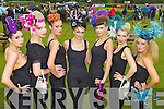 Jenn Linehan, Killarney, Victoria Tynan, Tralee, Margaret Kelliher, Rathmore, Norma O'Donoghue, Killarney, Rachel O'Connor, Killarney, Erica Dundon, Killarney, Jasmine Sands, Killorglin at Killarney races ladies day on Thursday.