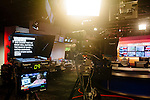 A teleprompter after a taping in the newsroom at The Weather Channel in Atlanta, Georgia May 16, 2013.