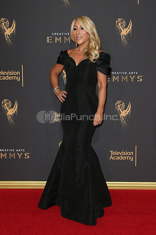 LOS ANGELES, CA - SEPTEMBER 09: Lori Greiner at the 2017 Creative Arts Emmy Awards at Microsoft Theater on September 9, 2017 in Los Angeles, California. Credit: Faye Sadou/MediaPunch