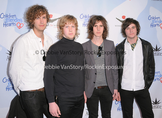 The Stanley Blacks at the 3rd annual Children Mending Hearts Peace Please Gala held at  The Music Box @ Henry Fonda Theater in Hollywood, California on April 16,2010                                                                   Copyright 2010  DVS / RockinExposures