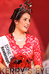 Luxembourg Rose Nicola McEvoy being announced as the 2012 Rose of Tralee on Tuesday at the Dome.