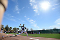Kenta Maeda (Dodgers),<br /> FEBRUARY 23, 2016 - MLB : Japan's pitcher Kenta Maeda of Los Angeles throws a bullpen session during a spring training baseball camp in Glendale, Arizona, United States.<br /> (Photo by AFLO)