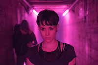 The Girl in the Spider's Web (2018)<br /> Lisbeth Salander (Claire Foy)  <br /> *Filmstill - Editorial Use Only*<br /> CAP/MFS<br /> Image supplied by Capital Pictures