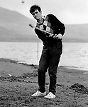 Eoin O'Connell, Killarney Sports Star 1985.<br /> Photo Don MacMonagle.<br /> macmonagle.com archive