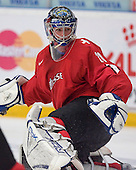Reto Berra (GCK Lions Zurich - Switzerland) - The Suisse defeated Slovakia 2-1 in a 2007 World Juniors match on January 2, 2007, at FM Mattson Arena in Mora, Sweden.