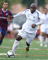 Ali Gerba #10 of the Montrteal Impact during an NASL match against Crystal Palace Baltimore at Paul Angelo Russo Stadium in Towson, Maryland on August 21 2010. Montreal won 5-0.