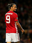 Zlatan Ibrahimovic of Manchester United during the UEFA Europa League match at Old Trafford Stadium, Manchester. Picture date: September 29th, 2016. Pic Matt McNulty/Sportimage