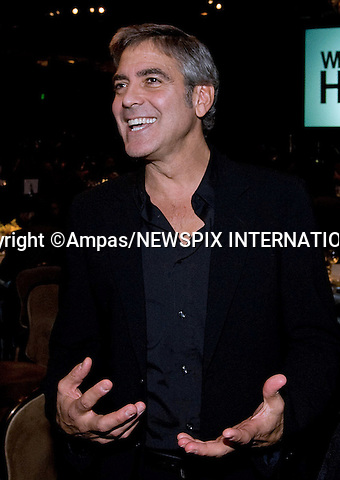 82nd OSCARS NOMINEES LUNCHEON.George Clooney at the Oscar Nominees Luncheon at the Beverly Hilton,Beverly Hills_ February 15, 2010. .Academy Awards for outstanding film achievements of 2009 will be presented on Sunday, March 7, 2010 at the Kodak  Theatre, Hollywood, Los Angeles.PHOTO CREDIT: Petit/NEWSPIX INTERNATIONAL  .(Failure to by-line the photograph will result in an additional 100% reproduction fee surcharge. You must agree not to alter the images or change their original content)..            *** ALL FEES PAYABLE TO: NEWSPIX INTERNATIONAL ***..IMMEDIATE CONFIRMATION OF USAGE REQUIRED:Tel:+441279 324672..Newspix International, 31 Chinnery Hill, Bishop's Stortford, ENGLAND CM23 3PS.Tel: +441279 324672.Fax: +441279 656877.Mobile: +447775681153.e-mail: info@newspixinternational.co.uk