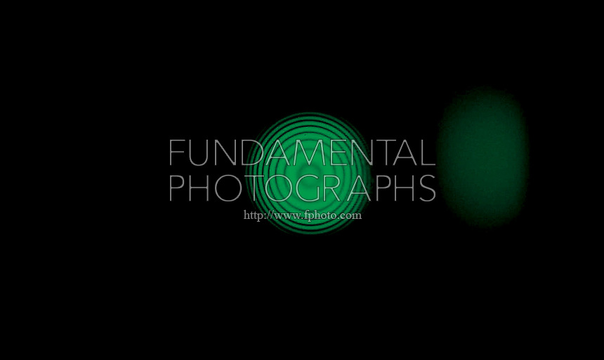 DUAL MODE  INTERFEROMETER<br /> Michelson Fringe Pattern- 546nm Green Light
