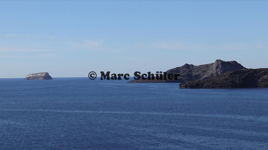 Mittelmeer vor Santorin - 22.11.2017: Santorin mit der Costa Deliziosa