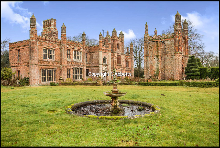 BNPS.co.uk (01202 558833)<br /> Pic: Abbotts/BNPS<br /> <br /> It's unusual to combine Henry VIII and Stayin' Alive together in one property - but this romantic Tudor pile in the remote heart of Norfolk does.<br /> <br /> Not only was Henry VIII a regular visitor to the magnificent 16th century East Barsham Manor but legendary Bee Gees manager Robert Stigwood also held court there in the 1970's. <br /> <br /> The Tudor monarch stayed at the Manor House near Fakenham in Norfolk on five separate occasions - but incredibly never with the same wife. <br /> <br /> Now Grade I listed, Henry used the impressive ten bedroom redbrick residence as his base when visiting a nearby shrine to Our Lady of Walsingham, the Virgin Mary. <br /> <br /> Stigwood lived there in the early 1970's around the time the massive hit movie Saturday Night Fever was being planned.<br /> <br /> The historic 500 year old manor is now on the market for £3 million through estate agents Abbots.