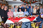 Staff of Top Part, Tralee enjoying their Christmas party in the Brogue Inn on Saturday night.