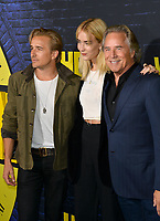 "LOS ANGELES, USA. October 15, 2019: Don Johnson, Jesse Johnson & Grace Johnson at the premiere of HBO's ""Watchmen"" at the Cinerama Dome, Hollywood.<br /> Picture: Paul Smith/Featureflash"