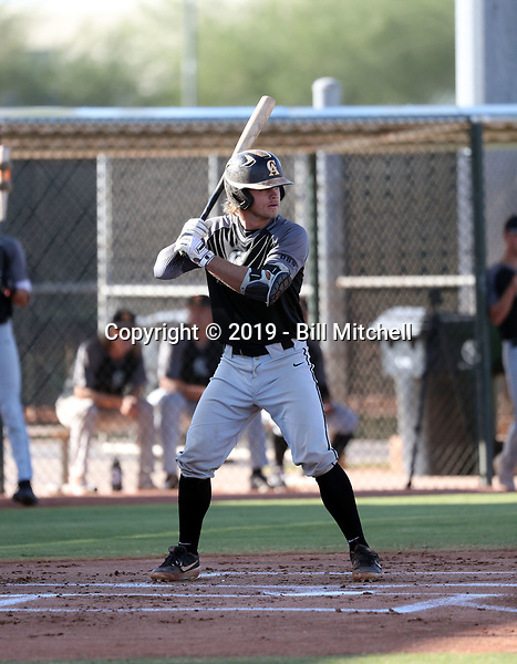 Seth Beckstead - 2019 Central Arizona Vaqueros fall season (Bill Mitchell)