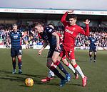 08.03.2020: Ross County v Rangers: Ianis Hagi and Ross Stewart