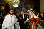 Orthodox wedding in Athens Greece