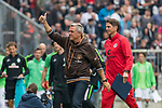 22.07.2017, Millerntor-Stadion, Hamburg, GER, FSP, FC St. Pauli vs SV Werder Bremen<br /> <br /> im Bild<br /> Olaf Janssen (Trainer FC St. Pauli), Patrick Gl&ouml;ckner / Gloeckner (Co-Trainer FC St. Pauli), <br /> <br /> Foto &copy; nordphoto / Ewert