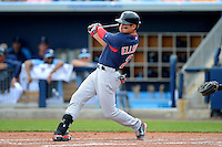 Boston Red Sox outfielder Jacoby Ellsbury #2 during a Grapefruit League Spring Training game against the Tampa Bay Rays at Charlotte County Sports Park on February 25, 2013 in Port Charlotte, Florida.  Tampa Bay defeated Boston 6-3.  (Mike Janes/Four Seam Images)