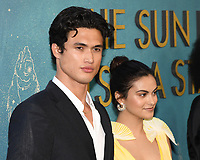 "13 May 2019 - Los Angeles, California - Charles Milton, Camila Mendes. ""The Sun Is Also A Star"" Warner Bros World Premiere held at Pacific Theatres at The Grove. Photo Credit: Billy Bennight/AdMedia"