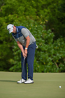 Marc Leishman (AUS) sinks his birdie putt on 7 during round 4 of the AT&T Byron Nelson, Trinity Forest Golf Club, at Dallas, Texas, USA. 5/20/2018.<br /> Picture: Golffile | Ken Murray<br /> <br /> All photo usage must carry mandatory copyright credit (© Golffile | Ken Murray)